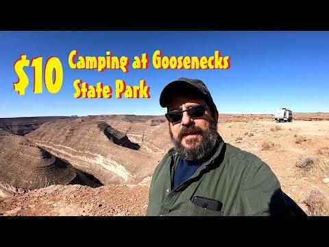 Goosenecks State Park - Mexican Hat Utah - Rving In Utah Near Monument Valley
