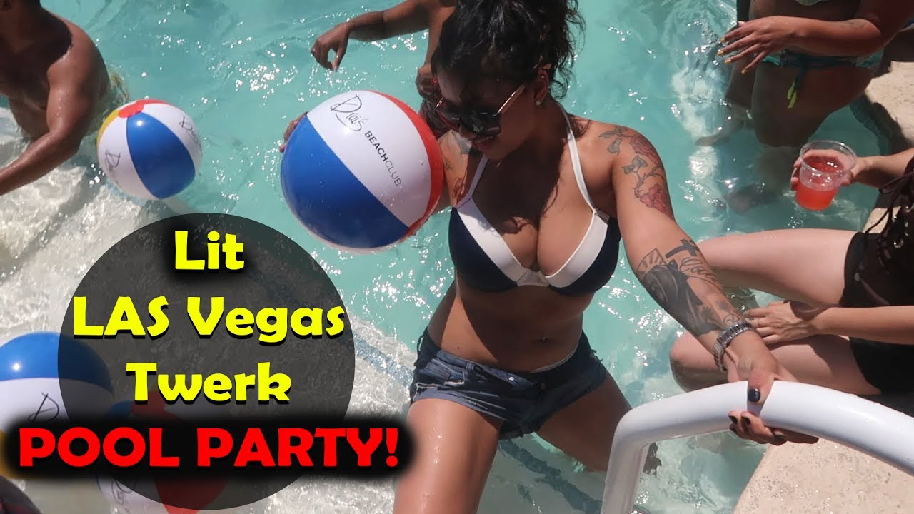 Wild Vegas Twerk Pool Day Party! Beach Club 2017