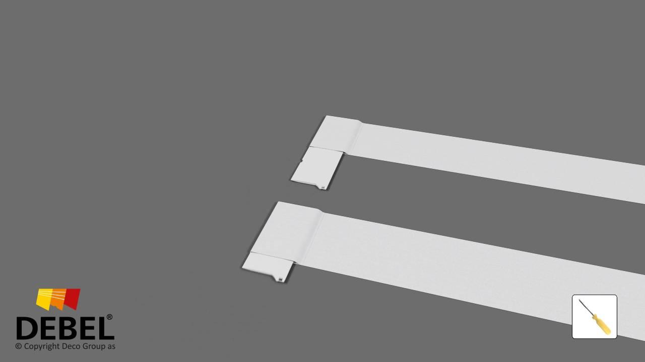 Oppdatert Montering af dine gardiner - følg vores videoguides | DEBEL DX-12