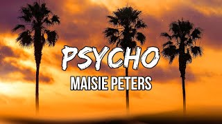 Maisie Peters - Psycho (Lyric Video)