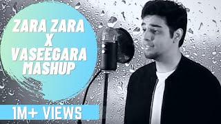 Zara Zara - Vaseegara Mashup | Vaseegara Hindi Version | Male Version | Karan Chugh | Hindi-Tamil