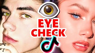 TikTok Boys & Girls: EYE CHECK 👀😍👁️🙄
