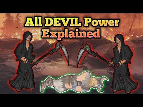 Top 5 DEVIL Powers Explained | The You Testament 2D Coming To