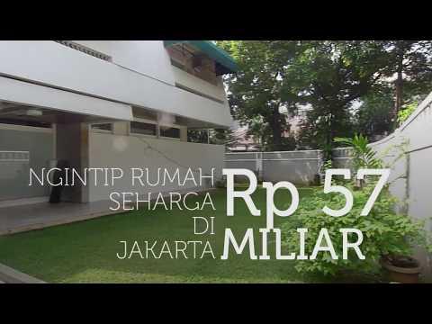 Ngintip Rumah Mewah 57 Miliar di Jakarta