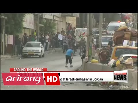 One dead in shooting incident at Israeli embassy in Jordan