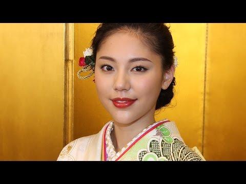 水沢エレナ、新年晴れ着インタビュー 今年も「自分らしく」 #Erena Mizusawa