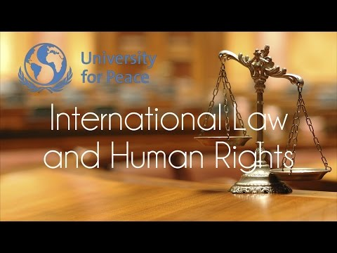 Master Programme in International Law and Human Rights | University for Peace