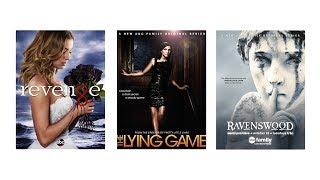 3 сериала: Месть, Игра в ложь, Рейвенсвуд
