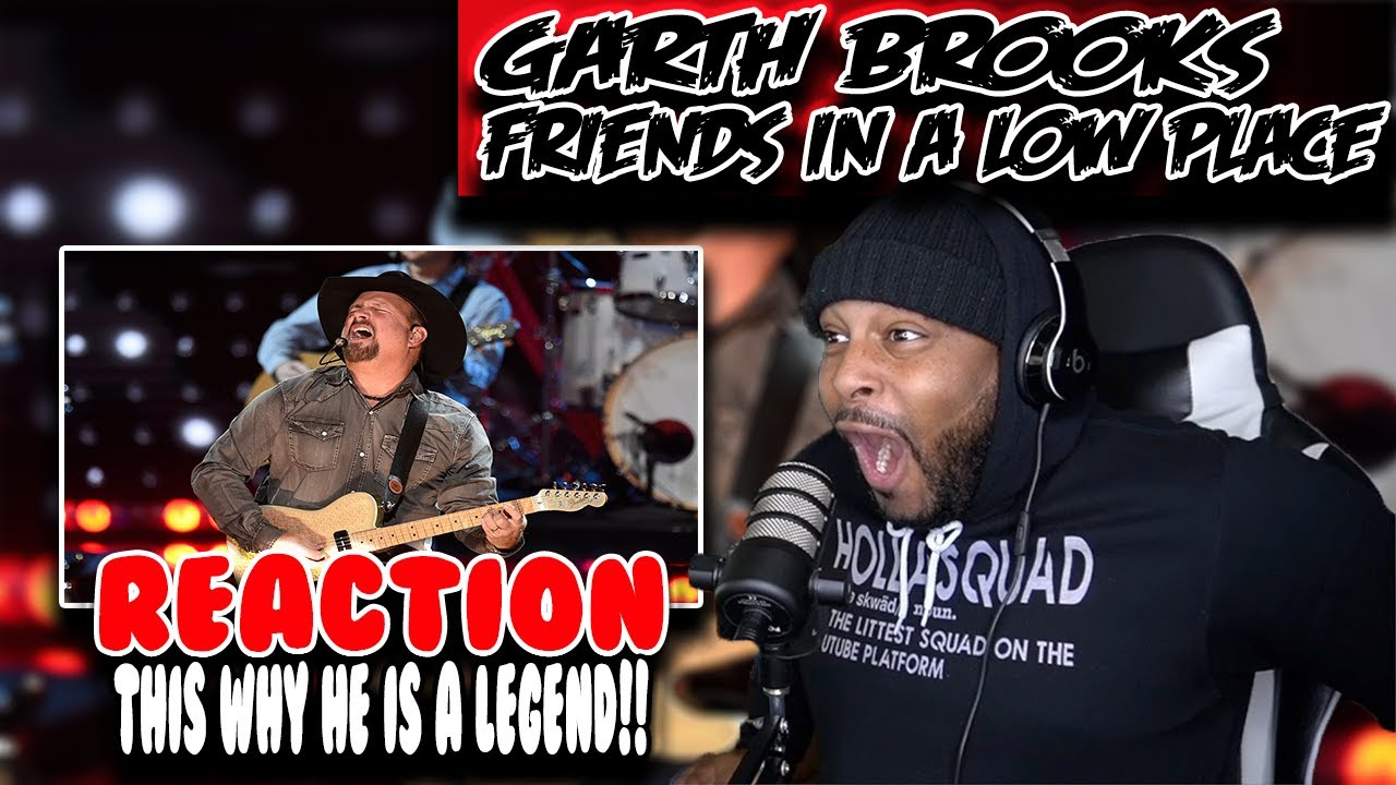 Week of Garth Brooks - Friends in Low Places ( Day 1 ) | REACTION