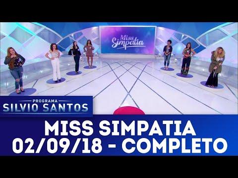 Miss Simpatia - Completo | Programa Silvio Santos (02/09/18)