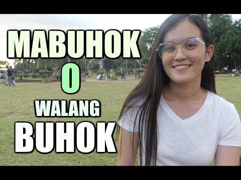 mabuhok o walang buhok ?