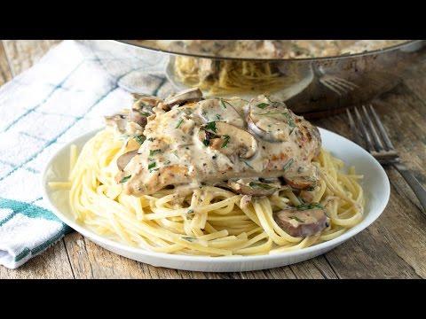 Creamy Tarragon Dijon Skillet Chicken