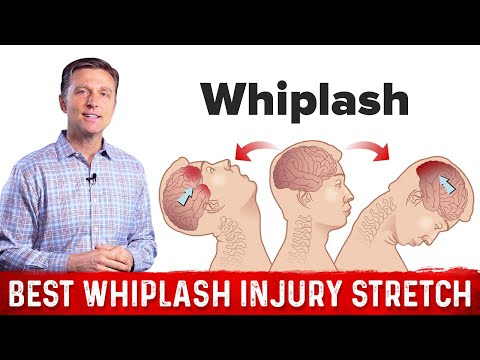 The Best Stretch After A Whiplash Injury Youtube