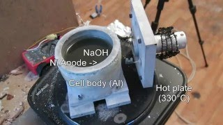 Make sodium metal - Sodium hydroxide elecrtolysis cell