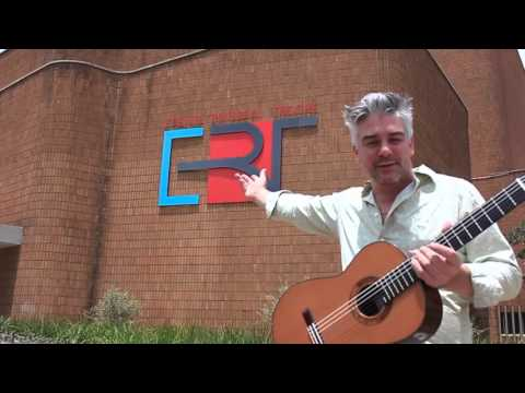ERT Sasolburg, South Africa: JAMES GRACE in Concert with Carli Spanish Dance Productions.