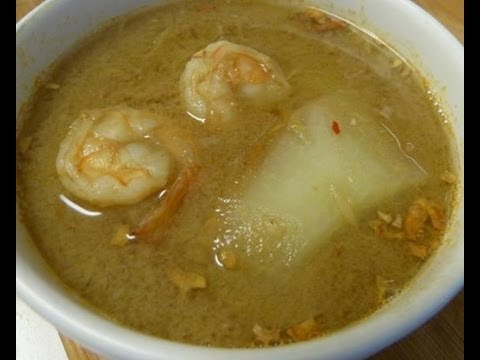 Thai food-Green papaya curry