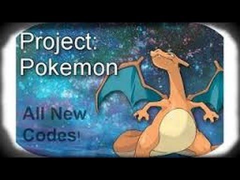 new roblox project pokemon codes