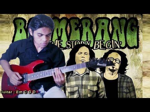 Boomerang - Pelangi___Guitar Cover By Mr. JOM
