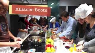 Alliance Healthcare España Celebra la Navidad taller con AleFeldman