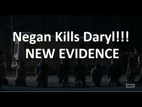 The Walking Dead : NEGAN KILLS DARYL PROOF - BRAND NEW EVIDENCE!!! - YouTube