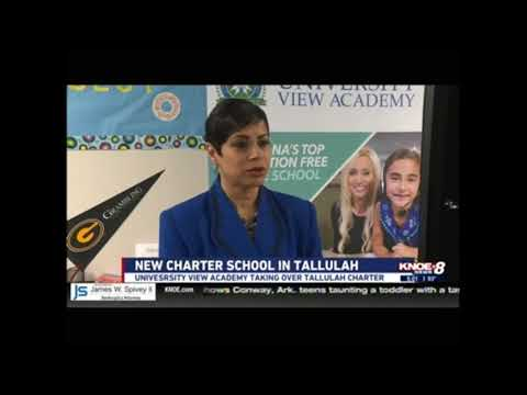 Tallulah Charter School gets new partner in University View Academy  | KNOE 6 PM