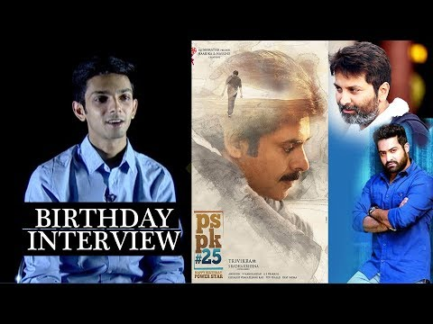 Anirudh Ravichander about #PSPK25, #NTR28 and more || Anirudh Ravichander birthday special interview