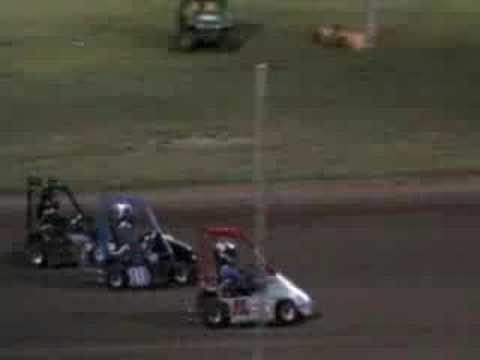 LSS Senior Champ Kart Feature 8/15/08