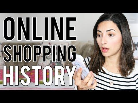 MY ONLINE SHOPPING HISTORY IN 2018  My No Buy Year  Ysis Lorenna