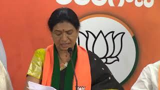D.K. Aruna addresses media //18-10-2020