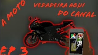 A Nova moto aqui do canal de verdade