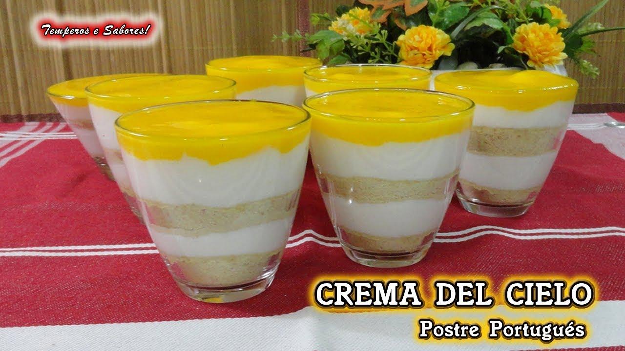 Crema del Cielo - Acomerpe.com