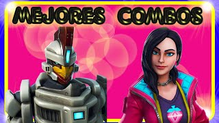 SKIN ROX Best skin combinations GENTINELA. (SEASON 9 FORTNITE Battle Royale.