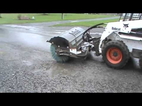 Bobcat 84 Quot Power Angle Sweeper Broom For Sale For Skid