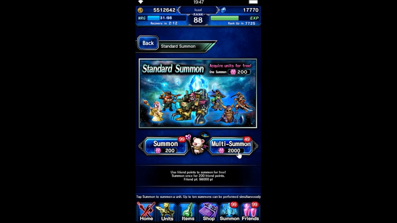 PART 2 - FFBE TMR SECRETS - NO REFILL 1 HOUR FOR 1% MY FOURTH KARL AT 100%  LATIUS WOODS