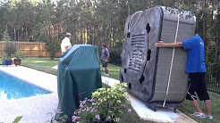 Movers Jacksonville Fl   How to Move A Hot Tub!
