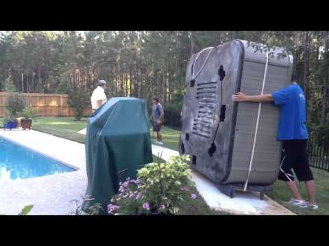 Movers Jacksonville Fl | How to Move A Hot Tub!