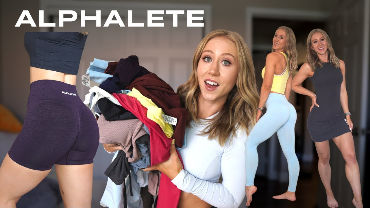 HUGE Alphalete Review! NEW Amplify, Dresses, and more!