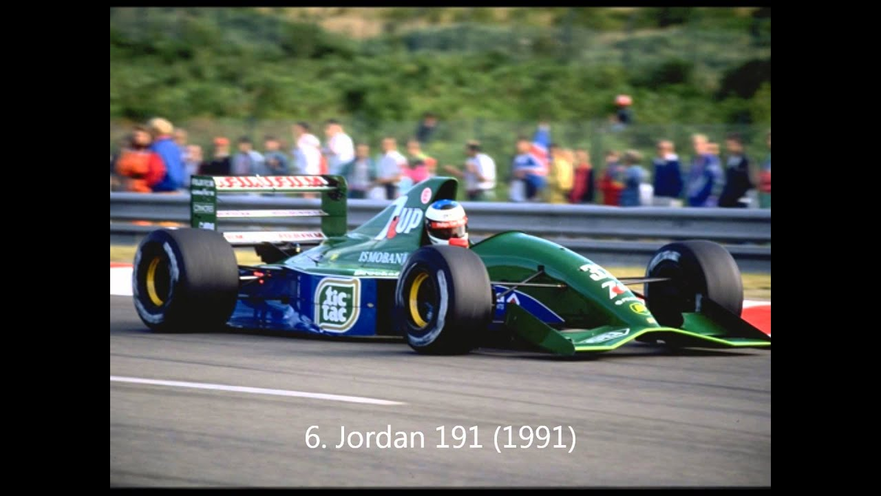 top 10 best looking f1 cars of the 90 39 s slideshow youtube. Black Bedroom Furniture Sets. Home Design Ideas