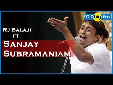 Sanjay Subramaniam 2016 | RJ Balaji Take It Easy (25 Feb)