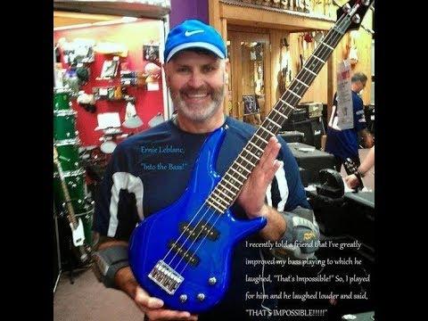 C Major Scale Twin - Locrian Mode...- Copyright (c) 2017 Ernie Leblanc, ''Into the Bass!''