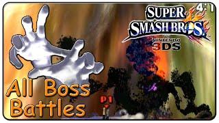 Super Smash Bros. 3DS All Bosses