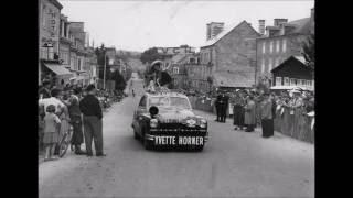 Yvette Horner Reine de Musette et Tour de France