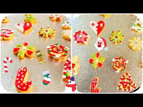 biscuits-de-noël-🎅🏻🍭🍪(-christmas-cookies-)-recette-facile-et-décoration-👌🏻