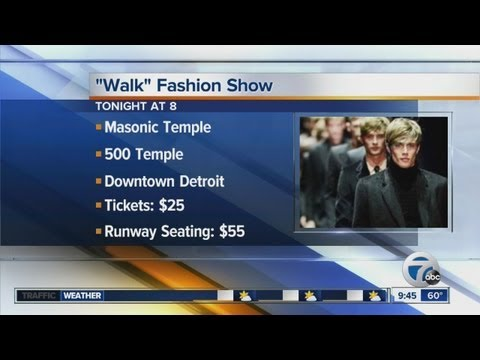 walk fashion show Detroit