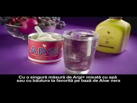 Argi+ de la FOREVER adica L Arginina