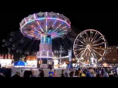 Allentown Fair rides - August 30, 2013