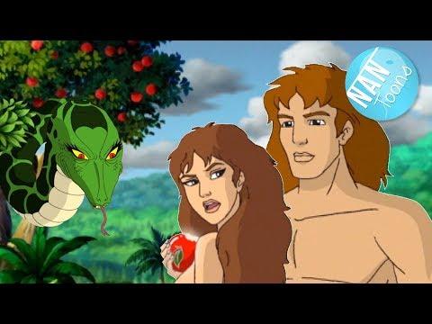 Adan y Eva | Genesis | Eden | Antiguo Testamento | Biblia para niños