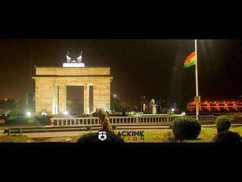 City Of Accra, Ghana at Night in 4K (GH4 Timelapse)