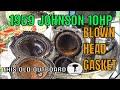 1959 JOHNSON 10HP ''RUSTY CRUSTY CRAPPY WAPPY''
