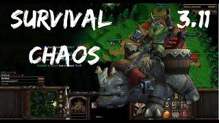 Survival Chaos - UNLEASH THE KODO BEASTS! | Warcraft 3